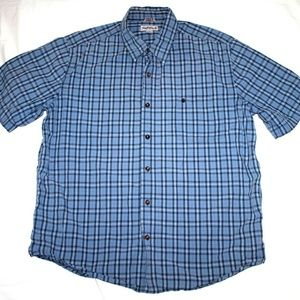 Carhartt Relaxed Fit Mens Short Sleeve Button Fron